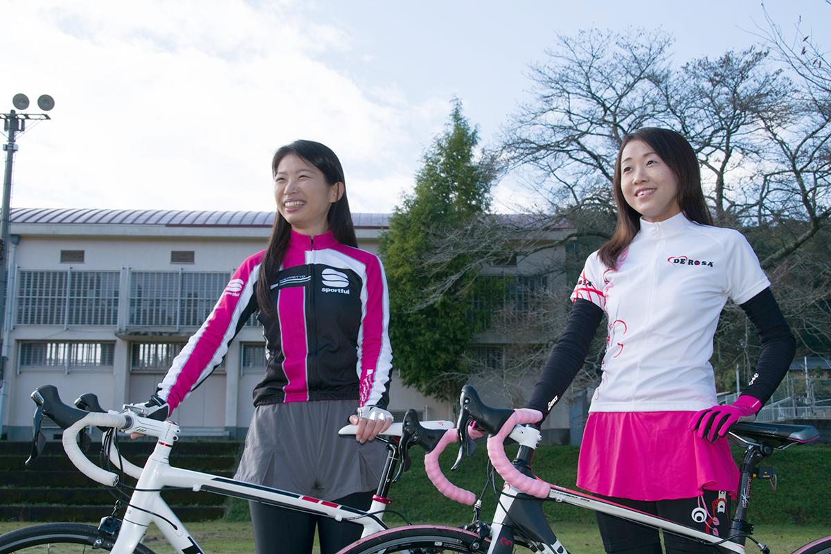 サイクリング女子